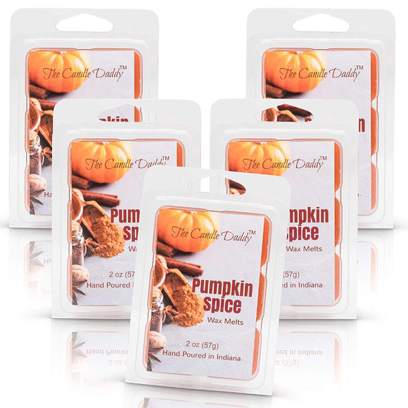 The Candle Daddy Other - 5 pack -Pumpkin Spice Scented Wax Melts 5 (five)